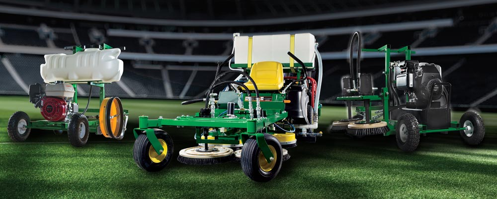 TempLine Synthetic Turf Maintenance Equipment